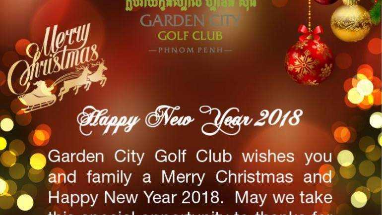 (English) Merry Christmas & Happy New Year 2018